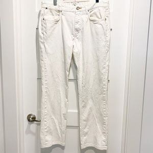 Tommy Bahama Authentic White Straight Leg Jeans